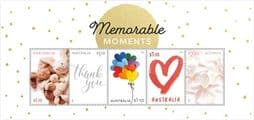 Australian Stamps 2021 25/01/2021 Special Occasions 2021: Memorable Moments miniature sheet